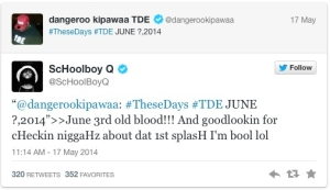 tweet from school boy q